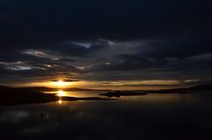 An Early Departure (Dave_Barlow) Tags: sea sun water sunrise islands orkney stromness hamnavoe cloudslight elementsorganizer