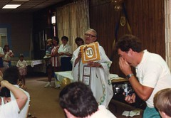 Fr. Leo's Golden Jubilee (Illinois McKennas) Tags: 1987 june21