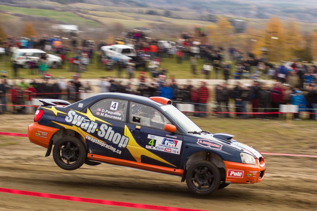 Marc Bourassa / Daniel Paquette - Rallye de Charlevoix 2012