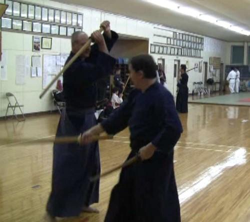 Practicing Kasumi Shinto-ryu