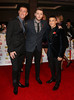 Jahmene Douglas, James Arthur, and Christopher Maloney The Daily Mirror Pride of Britain Awards 2012 London