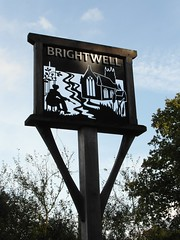 Brightwell Village Sign (The original SimonB) Tags: sign suffolk october samsung 2012 brightwell villagesign autumnul wb690