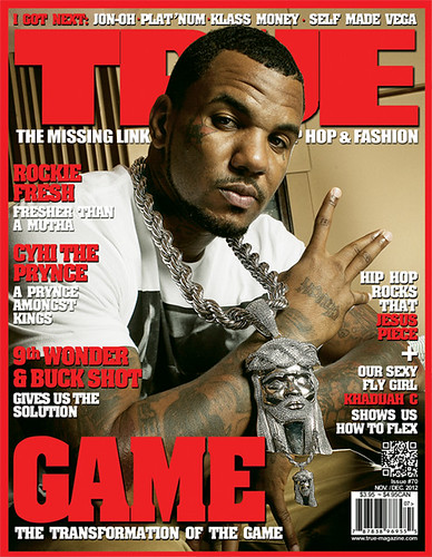 The Game TRUE Magazine cover nov 2012