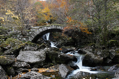 Pack-horse Bridge Perthshire (evelyn@nuffadoo) Tags: bridge perthshire packhorse