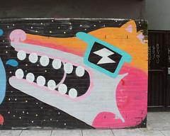 (e_alnak) Tags: colour art colorful paint bright character teeth vivid spray streetartist spraypaint publicart aerosol striking bold malarky ealnak