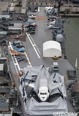 Enterprise Damaged (Greenpeace USA 2016) Tags: usa newyork storm us newjersey sand sandy hurricane nuclear aerial shuttle enterprise powerstation climatechange alert globalwarming ostercreek