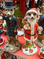 Meerkats (BowBelle51) Tags: santa decorations train reindeer lights penguins fireplace fairground donkey carousel robins polarbear nativity snowglobe eskimo baubles meerkats fircones