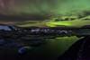 Lights At The Lagoon (Kristinn R.) Tags: sky clouds stars iceland nikon lagoon icebergs jökulsárlón d3x nikonphotography breiðamerkursandur kristinnr