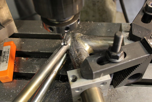 countersinking the integrated seat stay binder bolt