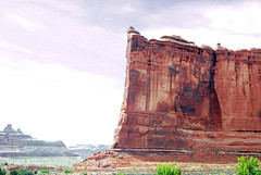 Courthouse Towers (WorldofArun) Tags: tower rock river utah nationalpark ut nikon sandstone arch hiking scenic may arches canyon cliffs formation trail coloradoriver moab walls archesnationalpark naturalwonders mesa isolated 2010 lasal rockformation theorgan sheeprock towerofbabel threegossips drywash nabs grandcounty naturalarch 18200mm lasalmountainrange ancientlandscape courthousetowers d40x worldofarun naturalarchandbridgesociety drywashbed arunyenumula archesnationalmonumentscientificexpedition