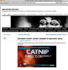 366 Weird Movies - Catnip: Egress to Oblivion?