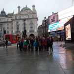 "<b>Picadilly Circus Posing</b><br/> ""In Frankenstein's Footsteps,"" J-Term 2013, Photo by Amy Weldon<a href=""//farm9.static.flickr.com/8190/8365131989_ca69332db6_o.jpg"" title=""High res"">∝</a>"