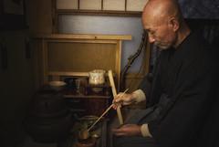 Zen Master Jinen Doing The Tea Ceremony (El-Branden Brazil) Tags: japan japanese asia tea buddha religion culture monk buddhism zen sacred teaceremony priest spiritual macha zazen mysticism bukyo