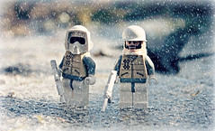 Having an Ice Time (The_Flash98) Tags: baby cold ice phoenix is lego awesome cray iceicebaby havinganicetime brickarms