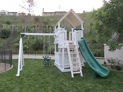 IMG_1443 (Swing Set Solutions) Tags: set play swings vinyl slide structure swing solutions playset polyvinyl