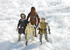 """""""I think this planet would make an ideal place to hide our base from the Empire."""" (Decepticreep) Tags: starwars princessleia lukeskywalker chewbacca hansolo hoth theempirestrikesback episode5"""