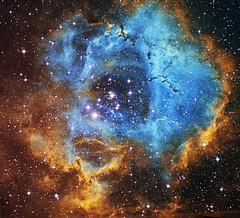 Rosette Nebula in NB (Daniele Malleo) Tags: sky stars space telescope galaxy nebula astrophotography astronomy ha ccd sii 583 qsi oiii nebulae deepsky narrowband Astrometrydotnet:status=solved Astrometrydotnet:version=14400 ieq45 hstpalette Astrometrydotnet:id=alpha20130136783081