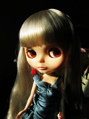 Raspberry Sorbet with Kiss me true's hair