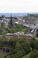 View of museum, railway station, Edinburgh Castle, Scotland (dkjphoto) Tags: uk travel art tourism public station train scotland edinburgh europe gallery cityscape tour edinburghcastle unitedkingdom johnson royal scottish rail railway whiskey scotrail exhibit galleries transportation royalmile whisky passenger scotch newtown scots waverley holyroodpalace nationalgalleriesofscotland wwwdenniskjohnsoncom denniskjohnson