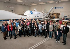NASA Airborne Earth Science group photo (Kevin Baird) Tags: photo group flight center nasa research dryden dfrc nasatweetup nasasocial uploaded:by=flickrmobile flickriosapp:filter=nofilter nasaairborne