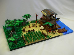 Far Cry 3 (Cool Whip) Tags: 3 jason man game tree grass metal modern dead island japanese boat video big google cool dock ruins day lego pirates wwii scene bunker jungle whip ww2 fields shanty videogame sheet ba cry rook tample far hang ubisoft ak47 outpost vaas moc googleimages coolwhip brickarms farcry3 ww2moc legomilitarymoc