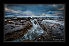 Tidal Flow (Jasonpang88) Tags: sea seascape sunrise landscape flow tidal lee09gnd rockshelf nikond800 jasonpang seascliff nikon1635mm jasonpangphotography