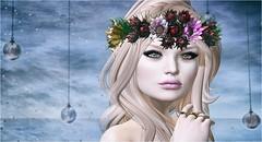 Crown of Gardens (Duchess Flux) Tags: indieteepee elua swagga deetalez freeskin catwa imeka elf elven fantasy secondlife sl