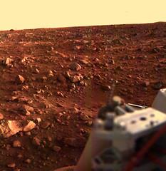 Sunset at the Viking Lander 1 Site (NASA's Marshall Space Flight Center) Tags: mars nasa viking vikinglander nasamarshall journeytomars nasasmarshallspaceflightcenter