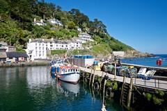DSCF9087 (douglaswestcott) Tags: summer england english coast seaside cornwall village harbour coastal quaint polperro