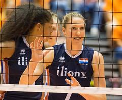 17251368 (roel.ubels) Tags: volleybal volleyball nederland oranje holland zuidkorea southkorea rotterdam topsportcentrum sport topsport 2016