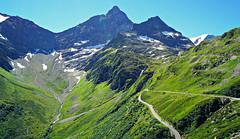 Swiss Roads (FlavioSarescia) Tags: nature sun summer swiss schweiz switzerland sunshine sunlight light roads road drive walk hike wander wanderlust travel mountain snow