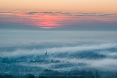 Przemyskie świtanie #2 (Mirek Pruchnicki) Tags: przemyśl województwopodkarpackie polska sunrise city foggy morninglight