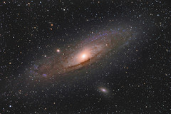 The Andromeda Galaxy (M31) (AlessioVaccaro) Tags: andromeda galaxy astrophotography astronomia astronomy astrofotografia deep sky deepsky skies stars stelle telescopio telescope heq5 tsapo804 tsoptics sicily galassiadiandromeda galassia messier m31 profondocielo stacking integration maximdl