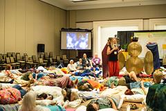 Kenneth Goff Presentation at the 2016 HTWC, Charlotte, NC (Cathy andersen) Tags: 2016htwc kennethgoff gong gongbath healingtouchprogram