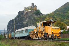TSS SSP 2005 SW + TSS ASP 08-16 (Tom Markovi) Tags: castle train special st nad labem stekov hrad