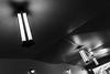 three-046 (Yvonne Rathbone) Tags: 3ofakind blackwhite corridor geometric lights monochrome flickrfriday technical 1855mmf3556gvr wideangle