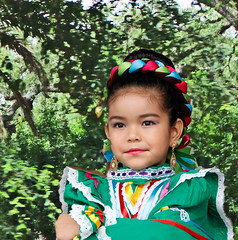 Portrait of a Young Dancer (Ellsasha) Tags: dancer philanthropy mexican youngster child portrait