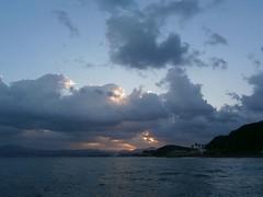today's sunrise (Kero-ppi) Tags: sea sunrise