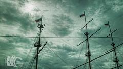 The Flying Dutchman (Arturofotos) Tags: sanpetersburgo stpetersburg rusia travel viajes clouds ship cloudy fragata mastiles nubes nubladoo