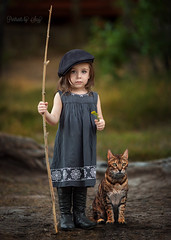 Goodbye Leo (2 years) (Portraits by Suzy) Tags: bengal cat kitten pets furbaby nature natural light color green leaopard suzy mead portraits by moment candid canon 6d 135l memorial composite stick child childhood warm fashion baby