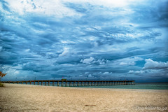 Crazy Sky (DonMiller_ToGo) Tags: hdr pier stormy hdrphotography 3xp sharkyspier nature thunderstorm onawalk outdoors d5500 sky weather clouds florida