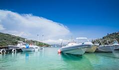 Agios Stefanos harbour (brianmiller006) Tags: corfu sea boats