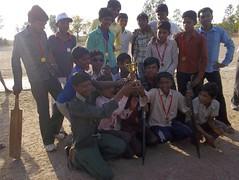 Anti child Labour Campaign by Criket- Janjarka Winning Team