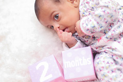 Malaak-2Months (Mido Melebari) Tags: happy baby newborn photos photo photography cry smile canada canadian arab canon 5d guelph