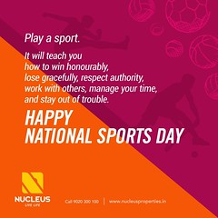 Wishing every sportsman and sports lovers a happy #NationalSportsDay!  #Kerala #Kochi #India #SportsDay #Architecture #Home #Construction #City #Elegance #Sports #Elegant #Building #Beauty #Beautiful #Exquisite #Interior #Design #Comfort #Luxury #Life #Li (nucleusproperties) Tags: life beautiful kochi elegant style kerala realestate lifestyle sportsday india luxury comfort apartment nature sports architecture interior gorgeous design elegance beauty nationalsportsday building exquisite view city construction atmosphere home living