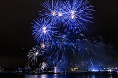 Fireworks World Port Days (photo 3) (R. Engelsman) Tags: wereldhavendagen worldportdays 2016 rotterdam 010 netherlands nederland fireworks vuurwerk canon 650d outdoor night nl show rotjeknor