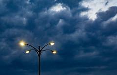 55 (Tony Webster) Tags: goldenvalley minnesota abstract bluehour dusk light lighting lights parkinglot stripmall unitedstates us