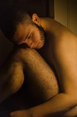 Outtake (Emiro Campos, Jr.) Tags: self portrait orange nude