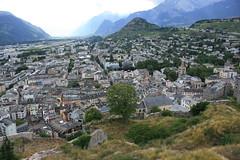 La ville de Sion (Canton du Valais, Suisse) (bobroy20) Tags: villedesion wallis sion suisse valle montagne colline tourisme valais cantonduvalais