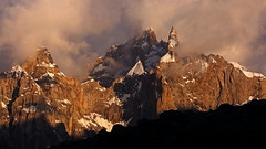 Marpogoro: The spires of Sosbun Brakk (Shahid Durrani) Tags: biafo glacier karakorams central karakoram national park baltistan pakistan